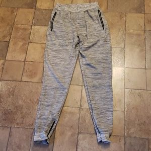 Grey and white mens joggers, Buckle brand